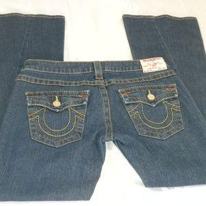 True Religion Size 29 Joey Flare Bootcut Jeans